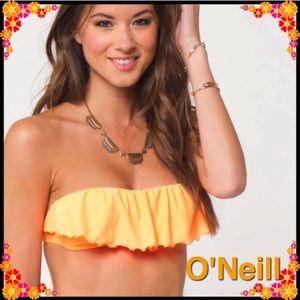 O'Neill Swim - NWT O'Neill Orange Bandeau Bikini